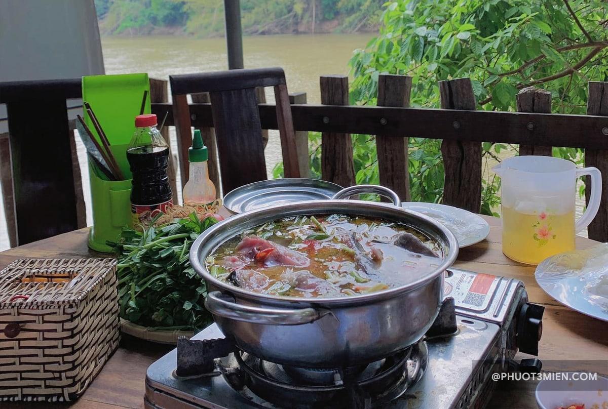 ăn ở Nam Cát Tiên