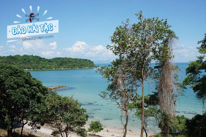Một hòn đảo hoang sơ mang tên Hải Tặc