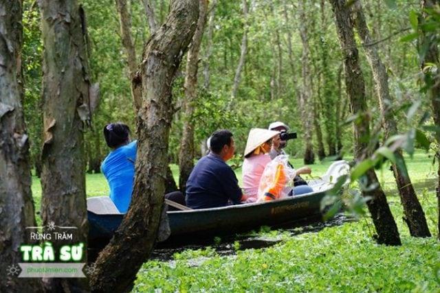 Tha hồ chụp ảnh thiên nhiên tại Trà Sư