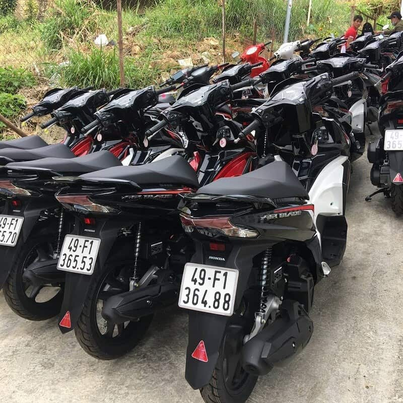 thuê xe máy chỉ từ 80k tại Đà Lạt