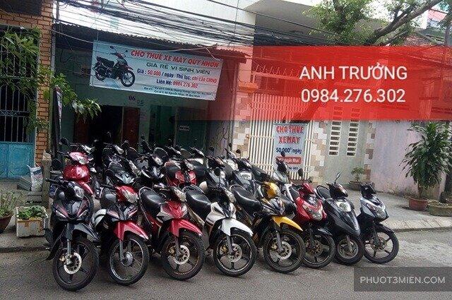 Cho thuê xe máy ở Quy Nhơn