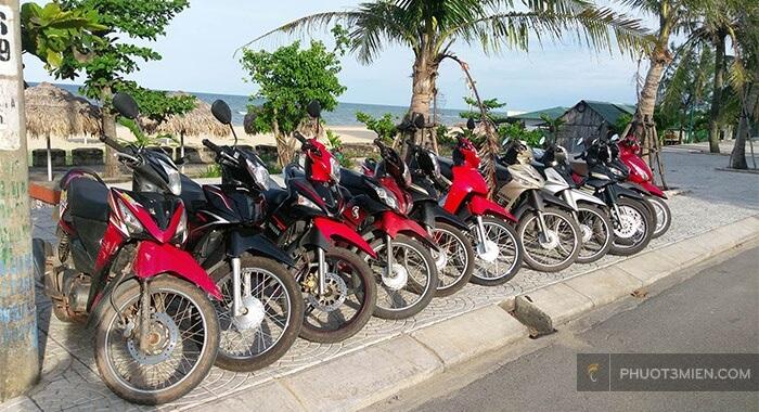 thuê xe máy ở đường trương pháp tp Đồng Hới