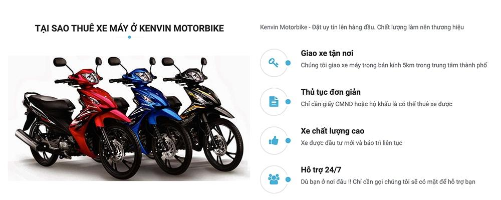 thuê xe máy kenvin