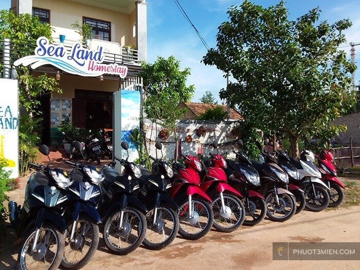 Thuê xe máy ở Quảng Bình