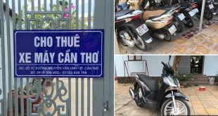 dịch vụ cho thuê xe máy cần thơ