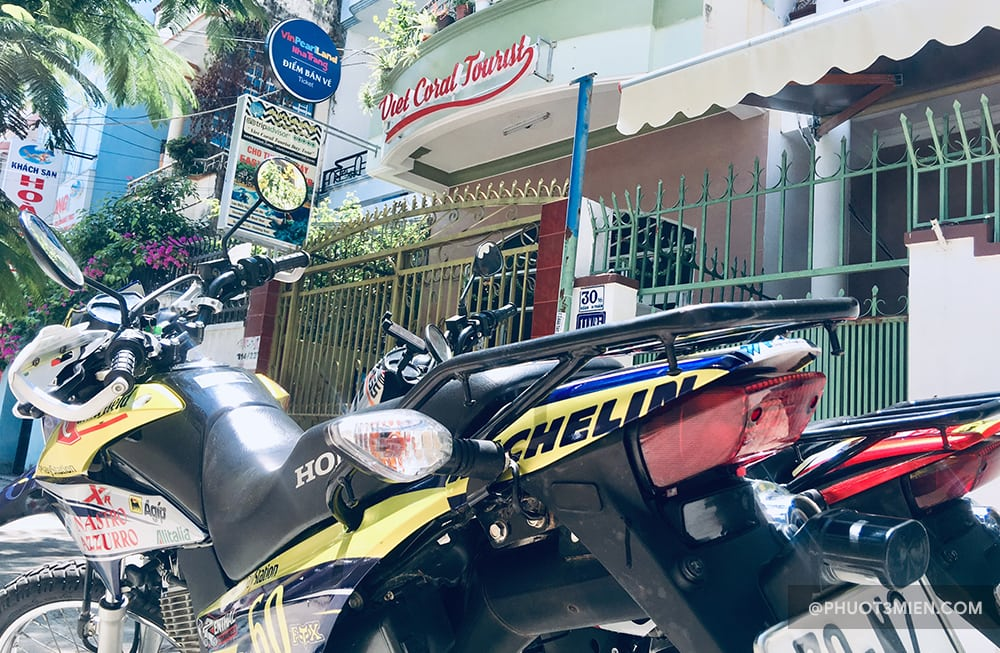 thuê xe máy san hô việt