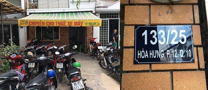 cho thuê xe máy ở quận 10