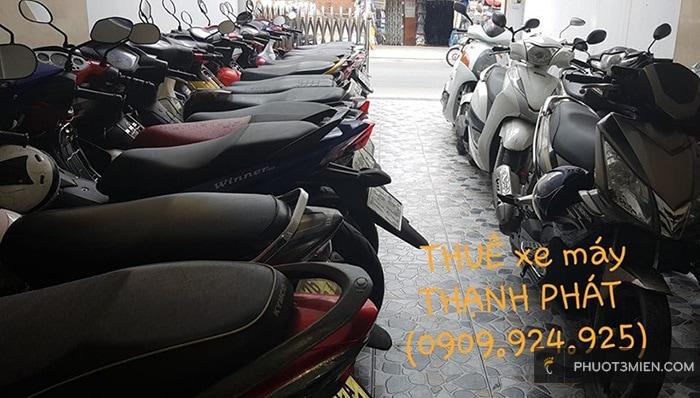 Chỗ thuê xe máy uy ở Quận Gò Vấp
