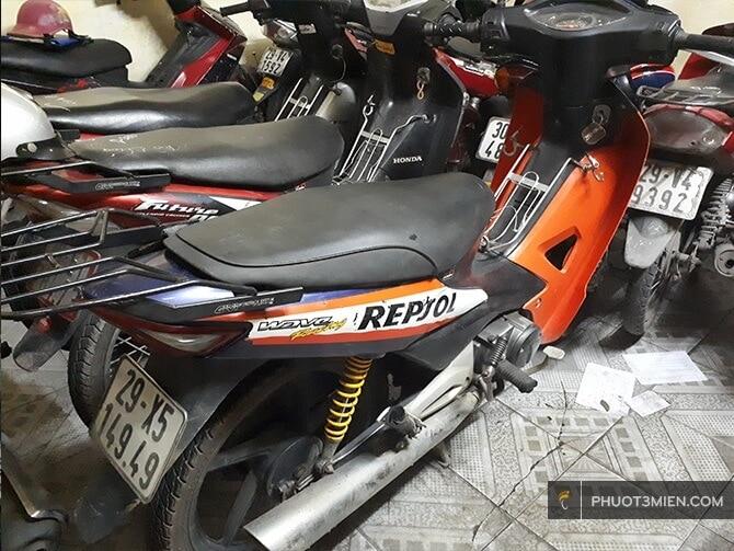 cho thuê xe máy ở Hà Nội