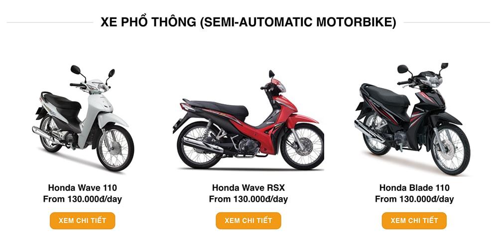 motor bike hà nội