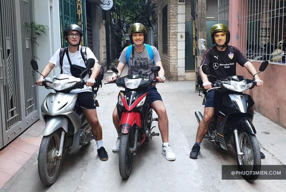 Thuê xe máy ở Hoàn Kiếm Hà Nội