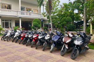 thuê xe máy ở châu đốc an giang
