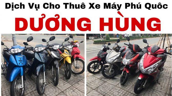 cho thuê xe máy ở phú quốc