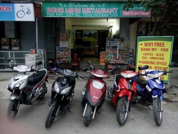 cho thuê xe máy ở Ninh Bình