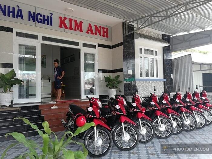 dịch vụ cho thuê xe máy tại nhà nghỉ kim anh