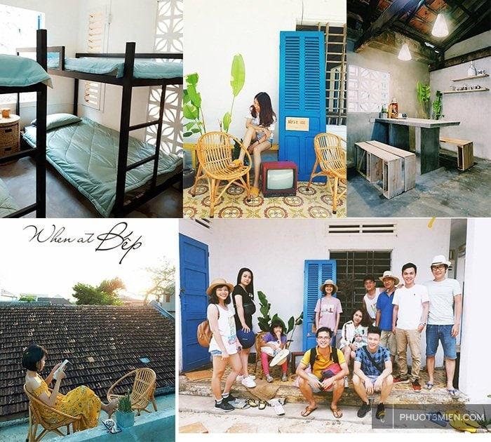 bếp house homestay Lý Sơn