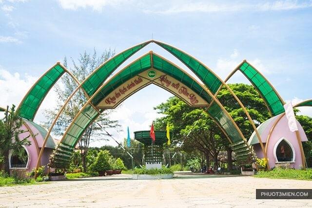 cổng chào làng Nổi Tân lập