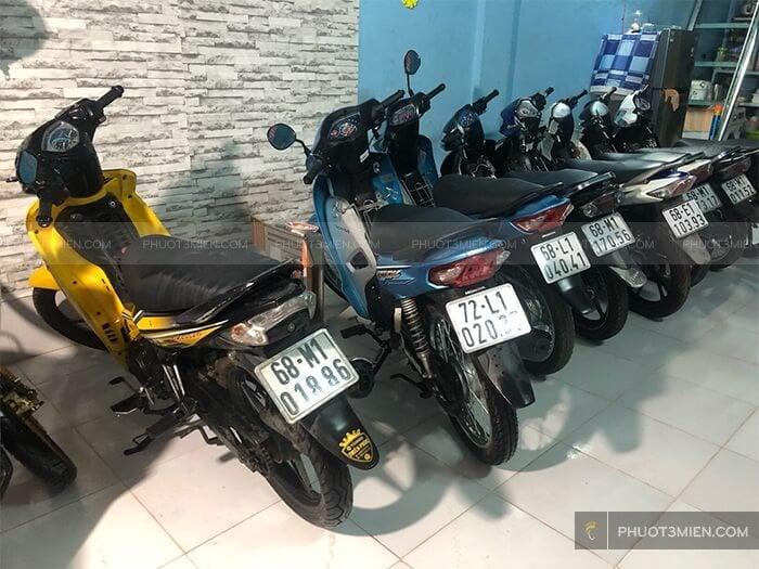 cho thuê xe máy ở Côn Đảo