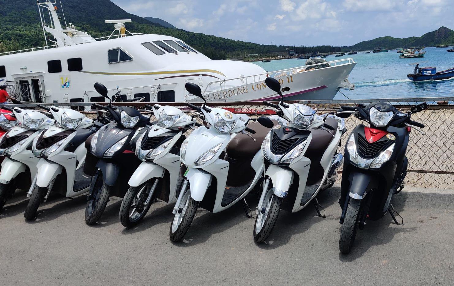 thuê xe máy tân châu