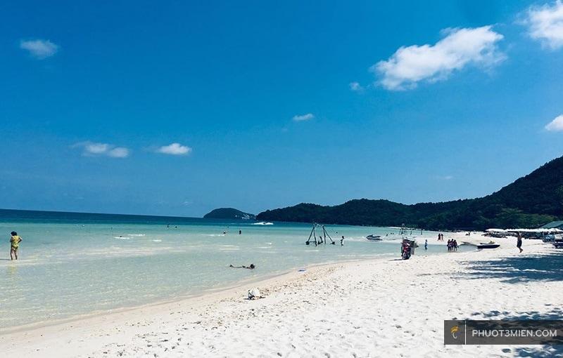 Bãi Sao cực đẹp ở Phú Quốc