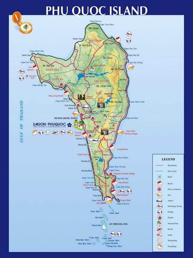 bản đồ phú quốc
