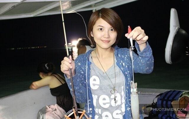 Câu mực đêm ở Phú Quốc