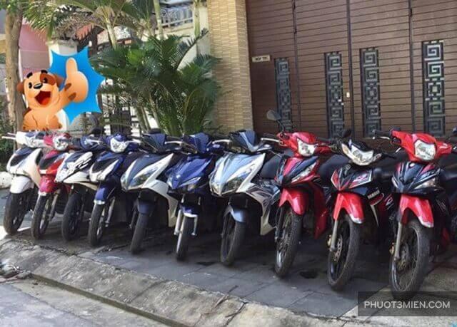 cho thuê xe máy ở bạc liêu