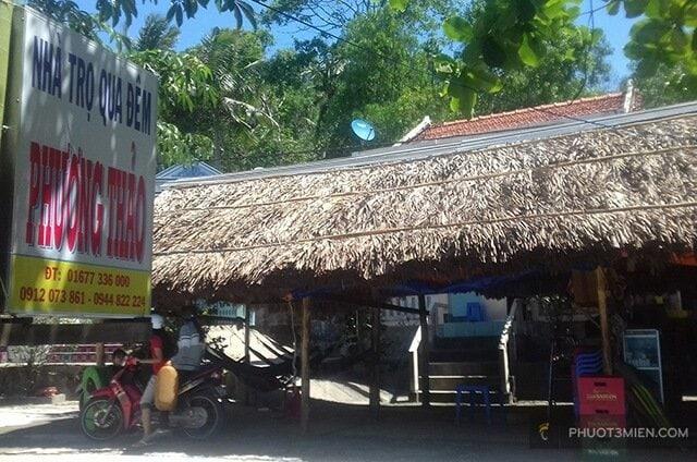 Nhà nghỉ phương thảo đảo hải tặc
