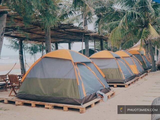 Thuê lều ở Lý Sơn