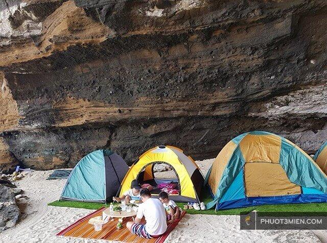 Chỗ thuê lều ở Lý Sơn