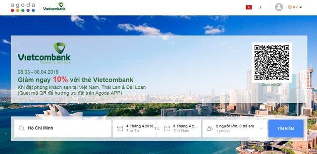vietcombank agoda