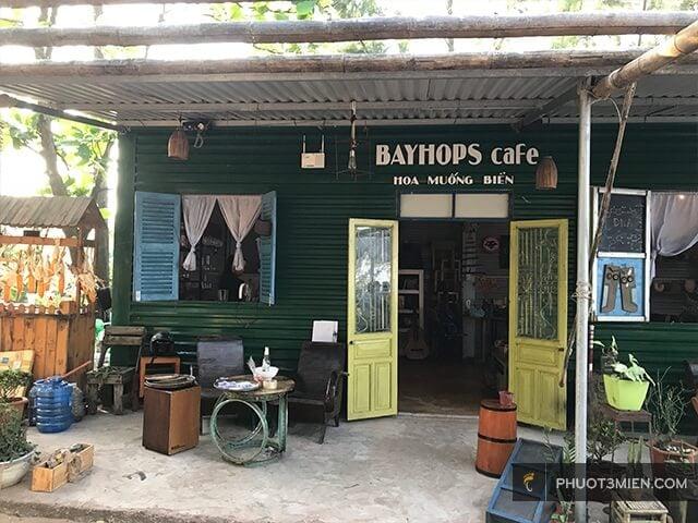 cafe bayhops quảng bình