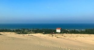 view biển ở đồi cát quang phú