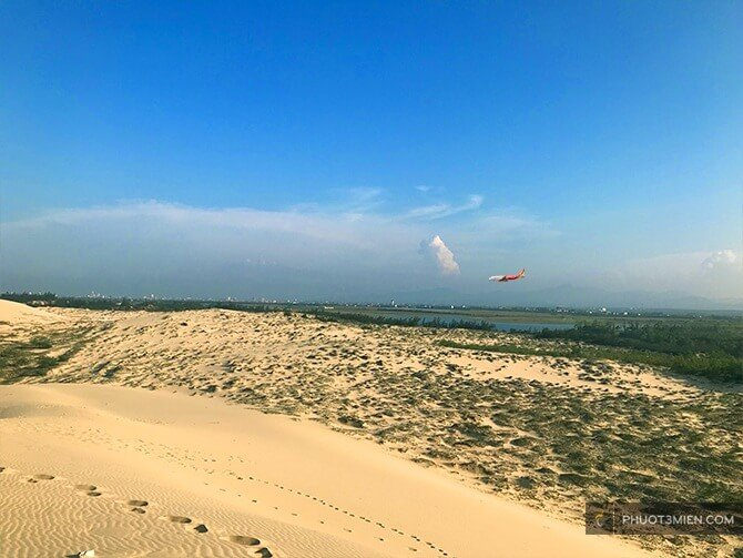 View ngắm máy bay Quang Phú