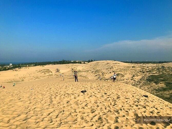 Đồi cát quang phú đồng hới