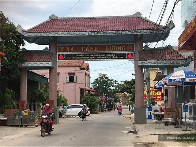 Cổng chào làng Bích Họa Cảnh Dương