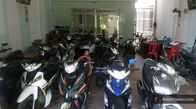 chỗ thuê xe máy ở Phan Rang