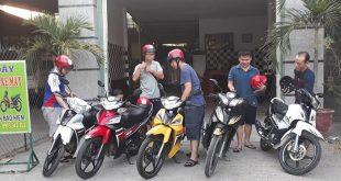 Dịch vụ cho thuê xe máy Thuận hải Phan Rang