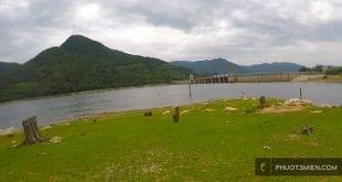 Cắm trại ở Hồ Định bình