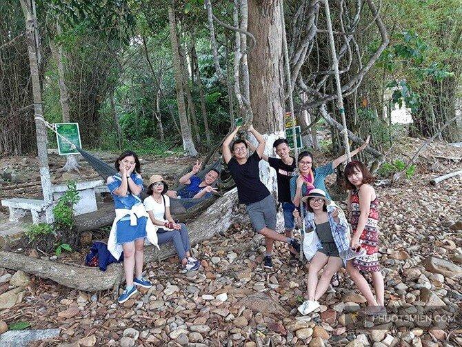 tham quan rừng quốc gia côn đảo