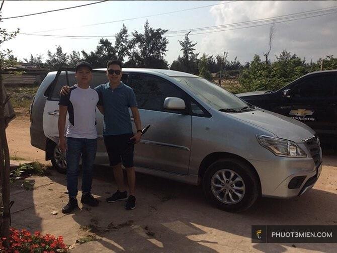Cho thuê xe 4 chỗ ở Quảng Bình