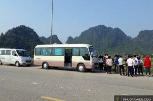 Cho thuê xe 16 chỗ ở Quảng Bình