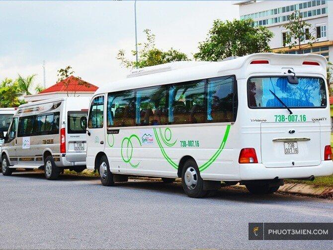 Cho thuê xe du lịch ở Quảng Bình
