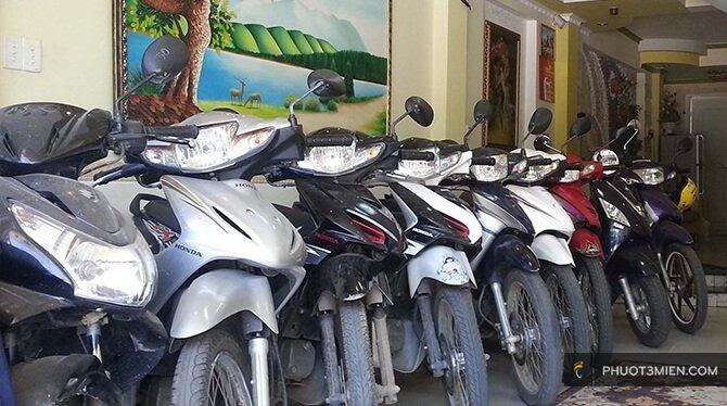 thuê xe máy ở phan rang