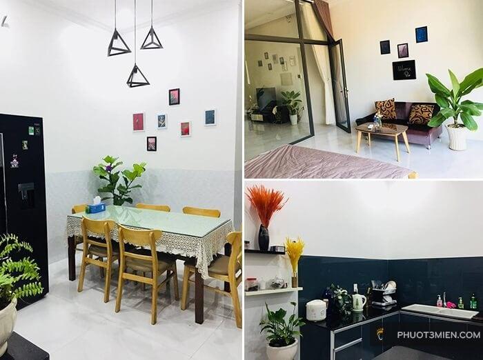 phòng khách Lim house homestay