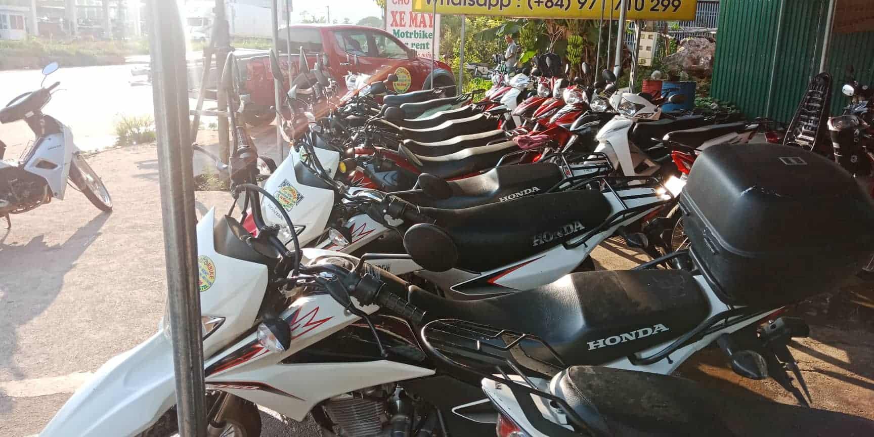 thuê xe máy hà giang giá rẻ