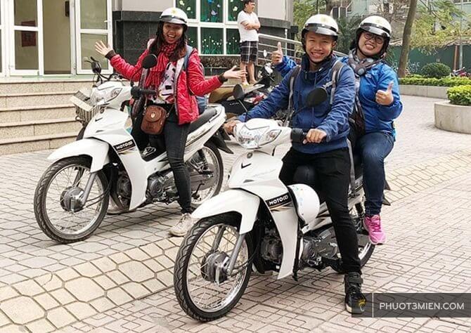 cho thuê xe máy tại Nam Định