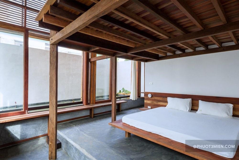 phòng ngủ sahi homestay huế