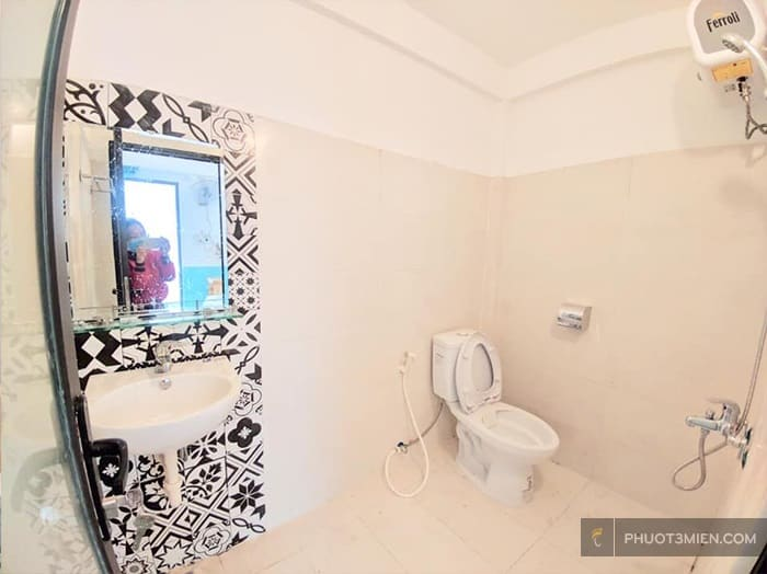 wc tại homestay