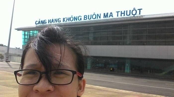 Check in tại sân bay buôn mê thuột